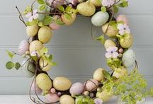 Easter Ideas / Celebrate easter at home! Decorate your garden with wreath, craft and decoration ideas!