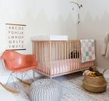Nurseries + Children's Rooms / Scandinavian fresh moodboard