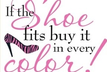 ☂FASHION: If The Shoes Fit...Buy It In Every Color!! / Shoes, Shoes & More Shoes! Though Most Of These I Couldn't Wear, Even If I Wanted To. My Mom Didn't Nickname Me Grace For Nothing! These Are Shoes That I Love & Wish I Could Wear! / by Carla Meisberger Vaught