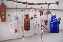 ♝ DECOR: Bottles, Glasswares, Jars & Such / A Collection Of Things Made Of Glass! / by Carla Meisberger Vaught