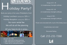 Loews Events / Events, Ideas, great events at the Loews Philadelphia hotel / by Loews Philadelphia Hotel