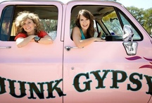 ★DIY: Junk Gypsies.... Crafts & Re-Purpose  / One of my favorite craft and junk tv shows. These ladies are so crafty! Great show! / by Carla Meisberger Vaught