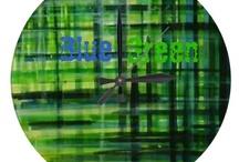 BLUE & GREEN   / ✔ Bℓuє & Gяєєη / by MyFantabulousWorld