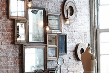 ♝DECOR: Mirror, Mirror On The Wall / A Collection Of Beautifully Crafted Mirrors. Some Plain & Some Very Elagant.  / by Carla Meisberger Vaught
