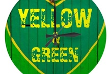 YELLOW & GREEN /  Yєℓℓow & Gяєєη ✔ / by MyFantabulousWorld