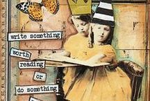Altered Trading Cards - ATC / by Sue Jensen Brown