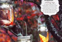 Solar Jar/Lantern / Old-meets-new, eco chic friendly solar jars/lanterns boundlessly versatile and simply adorable