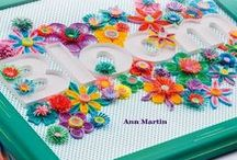 Creative Paper Quilling - The Book! / My second book in collaboration with Annie's Publishing... lots of card and jewelry designs.
