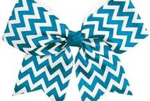 Cheerleading Hair Bows / Complete your look with a cheer bow!