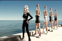 Greg Lotus- Vogue Italia w/ Carmen Dell'Orefice / Vogue Italia- Carmen Dell'Orefice Photographer: Greg Lotus  www.opusreps.com