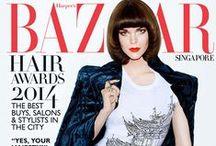 Yu Tsai- Meghan Collison : Harper's Bazaar / Meghan Collison : Harper's Bazaar Photographer: Yu Tsai   www.opusreps.com