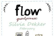 Friends of Flow: Silvia Dekker | 2015 / Every month a Friend of Flow will host a special board, pinning everything he or she finds inspiring. In February 2015: Dutch illustrator Silvia Dekker.