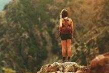 hiking + camping