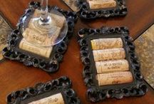 ✄ CRAFTS: Cork Craft Craziness! / A Collection Of Cork Crafts. Sheets, Wine Corks and Such! Just Craziness That Is Fun & festive! / by Carla Meisberger Vaught
