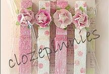 ✄ CRAFTS: Clothespin Craziness / by Carla Meisberger Vaught