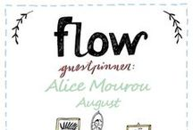 Friends of Flow: Alice Mourou | 2015 / Every month a Friend of Flow will host a special board, pinning everything he or she finds inspiring. In August 2015 this will be digital artdirector Alice Mourou.