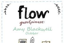 Friends of Flow: Amy Blackwell | 2015 / Every month a Friend of Flow will host a special board, pinning everything he or she finds inspiring. In October 2015 this will be illustrator Amy Blackwell.