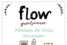 Friends of Flow: Marloes de Vries | 2015 / Every month a Friend of Flow will host a special board, pinning everything he or she finds inspiring. In November 2015 this will be illustrator Marloes de Vries.