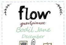 Friends of Flow: Bodil Jane | 2015 / Every month a Friend of Flow will host a special board, pinning everything he or she finds inspiring. In December 2015 this will be illustrator Bodil Jane.