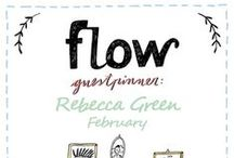 Friends of Flow: Rebecca Green | 2016 / Every month a Friend of Flow will host a special board, pinning everything he or she finds inspiring. In February 2016 this will be illustrator Rebecca Green.