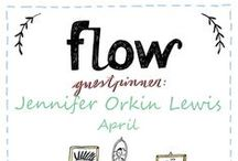 Friends of Flow: Jennifer Orkin Lewis | 2016 / Every month a Friend of Flow will host a special board, pinning everything he or she finds inspiring. In April 2016 this will be illustrator Jennifer Orkin Lewis.