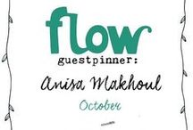 Friends of Flow: Anisa Makhoul | 2016 / Every month a Friend of Flow will host a special board, pinning everything he or she finds inspiring. In October 2016 this will be illustrator Anisa Makhoul.
