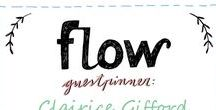 Friends of Flow: Clairice Gifford | 2016 / Every month a Friend of Flow will host a special board, pinning everything he or she finds inspiring. In December 2016 this will be illustrator Clairice Gifford.