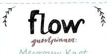 Friends of Flow January 2017 / Every month a Friend of Flow will host a special board, pinning everything he or she finds inspiring. In January 2017 this will be designer and hand letterer Mevrouw Knot.