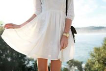 Style | the lwd / little white dress / by anna