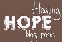 Healing Hope Blog Posts