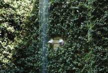 outdoor shower / by Gina Ramey