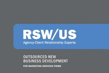New to us? Start here. / A piece we put together to show who we are and what we do.  Double click on any page to download the whole thing in one PDF. Thanks! / by RSW/US Agency New Business