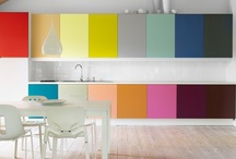 Coloured Kitchens / by Realty Queen TO