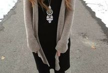 {Style: Fall & Winter} / Fall and winter outfits, etc. / by Chantel C.
