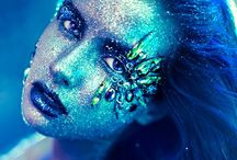 Beauty:Extreme/effectsMakeup / Themed, over the top, special effects,  face art  / by Summer Victoria Demery
