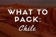What to Pack – Chile / Packing essentials for travels through Patagonia and the Atacama desert.  / by Andrew Harper Travel