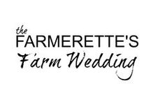 { FARM STYLE WEDDING} / Hope this inspires the Farmer-ette in you!  Cute, Chic and Country all wrapped into ONE!  :)   Inspired by my own, Farmerette wedding