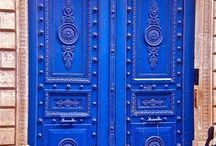 Doors / Fascinating and colourful doors from around the world.  / by Demi Rees