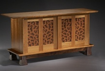 Custom Furniture / One or two of the right pieces is all it takes to create a focal point in your favorite room.  I love the custom work of Colorado Springs craftsman, Brian Hubel.