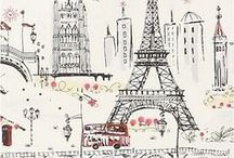 Paris is always a good idea / by April Heather Davulcu  /  April Heather Art