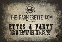 {ETTES PARTY TIME} / Throwing a party?  Look no further / by The Farmerette