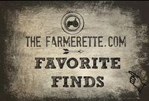 {FARMGIRL FAVORITE FINDS} / The Farmerette's Favorite finds...warning they maybe pink. / by The Farmerette