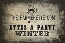 {WINTER PARTY} / by The Farmerette