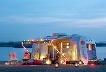 Airstream dream / Restored airstream trailers  / by Denna Clark
