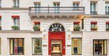 Hôtel, Hotel de Luxe Beauchamps PARIS   Made byJames / Au 24, rue de Ponthieu Hôtel 4 étoiles de quatre-vingt-dix chambres qui a été entièrement rénové en 2016, vous serez immédiatement séduit par la douceur de son univers poétique. Hôtel, Hotel de Luxe BEAUCHAMPS PARIS   Made byJames Les suites et chambres ont été rénové par La Maison James  @lamaisonjames