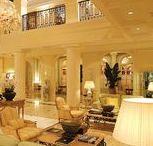Hôtel, Hotel de Luxe Hermitage MONACO | Made by James / Hôtel, Hotel de Luxe Hermitage MONACO | Made by James Gueridon, table basse, mini-bar, mobilier en général réalisé par La Maison James @lamaisonjames