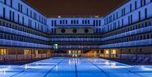 Hôtel, Hotel de Luxe Le Molitor PARIS | Made by James / Hôtel, Hotel de Luxe Le Molitor PARIS | Made by James Molitor a toujours été un lieu de vie incontournable à Paris, tout d'abord en étant pendant 60 ans la piscine la plus courue de Paris pour son ambiance avant-gardiste puis en devenant le temple de l'underground parisien de 1989 à 2012. @lamaisonjames #design #deco #retails #cabinetmaker #interior