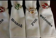 ring it up / napkin rings