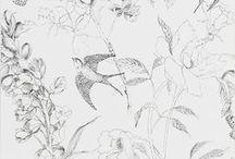 Patterns & Textures / Patterns, textures, textile, fabrics, surface design inspiration