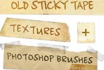 Photoshop - Misc Textures, Art